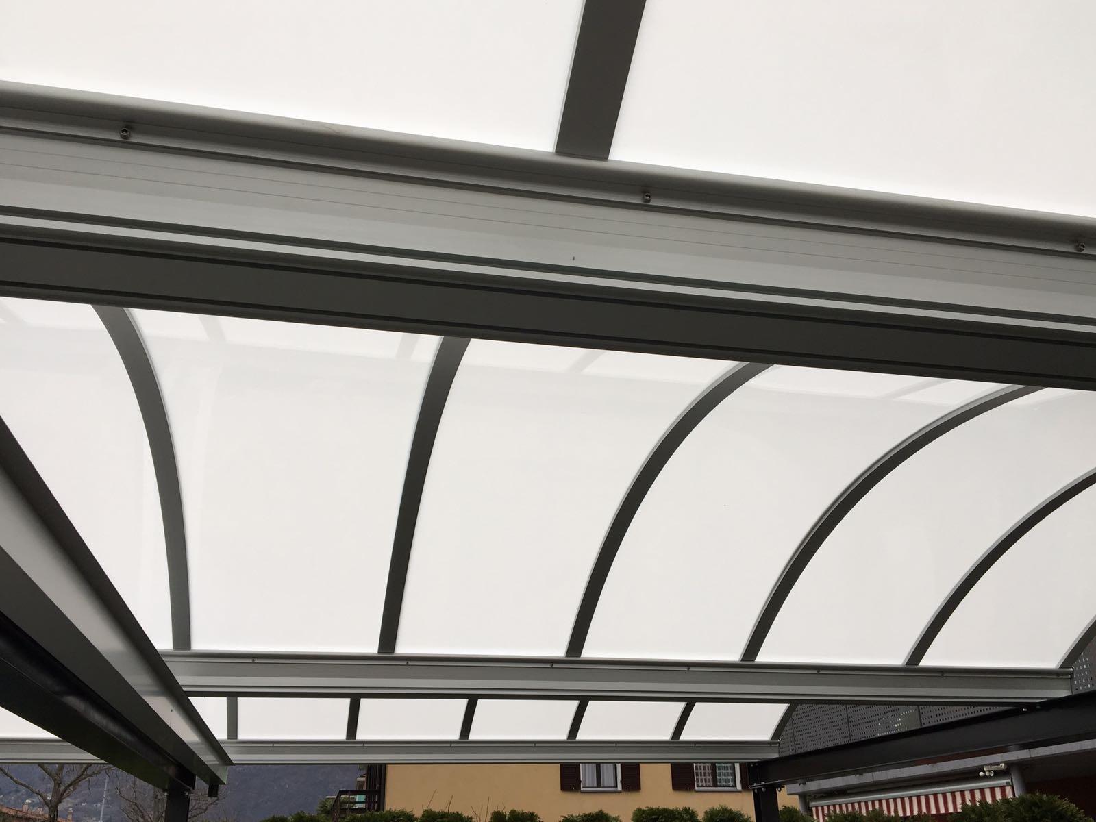 Tettoia per auto acciaio zincato - Gesualdi Group